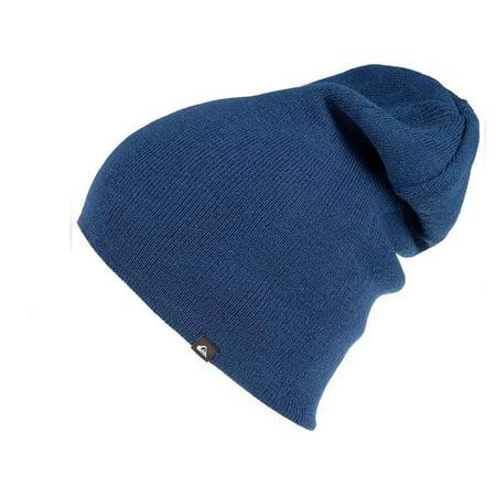 Quiksilver Men's Revolt Reversible Beanie Hat Cap Quiksilver Reversible Hat