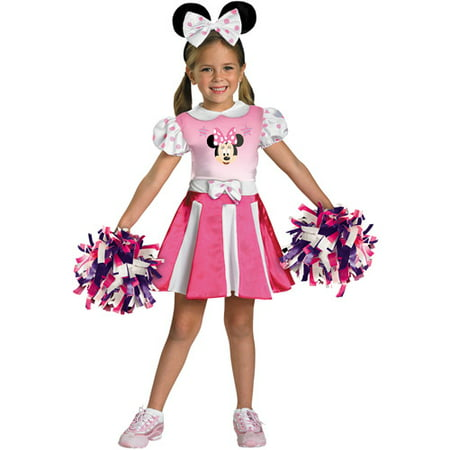MINNIE MOUSE CHEERLEADER 3T-4T