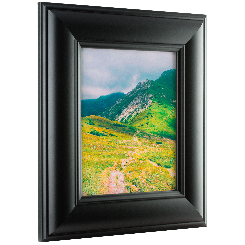 Craig Frames Dakota Wide, Modern Black Satin Picture Frame, 20x26 ...