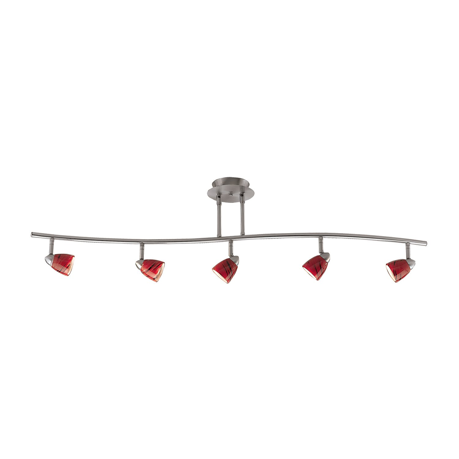Cal Lighting SL-954-5 5 Light Serpentine Track Lighting Kit ...