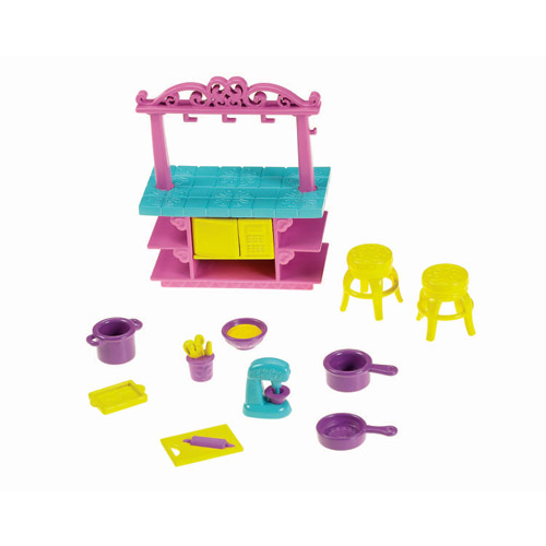 Nickelodeon Dora the Explorer Playtime Together Dora and Me Dollhouse Furniture, Kitchen