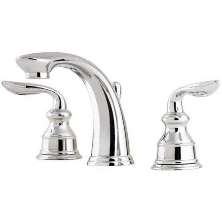 Pfister Avalon Widespread Bathroom Faucet With Metal Pop Up Assembly
