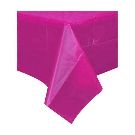 Everyday Is Halloween Cover (Hot Pink Birthday Halloween Party Decoration Plastic Table Cloth)