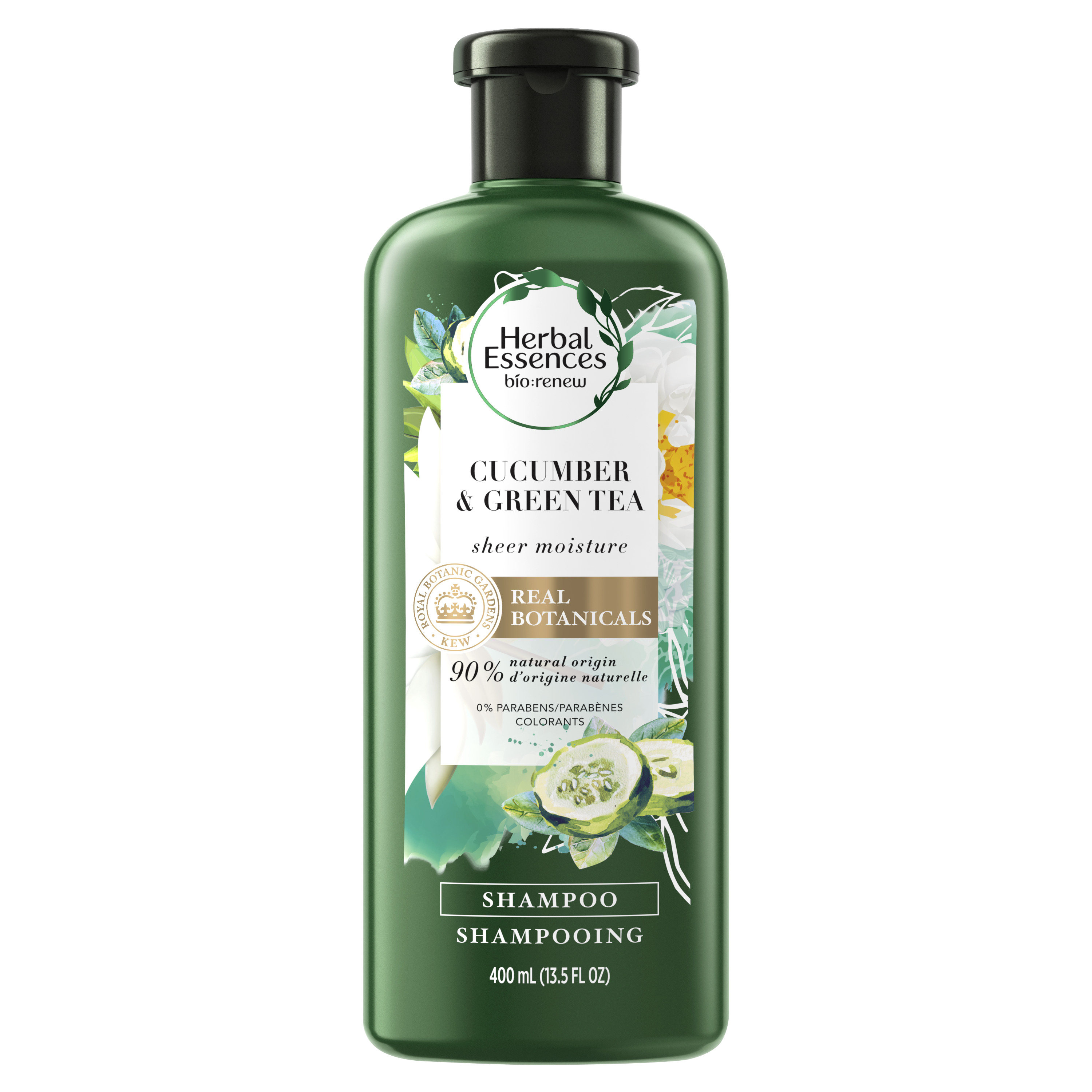 Herbal Essences bio:renew Cucumber & Green Tea Sheer Moisture Shampoo, 13.5 fl oz