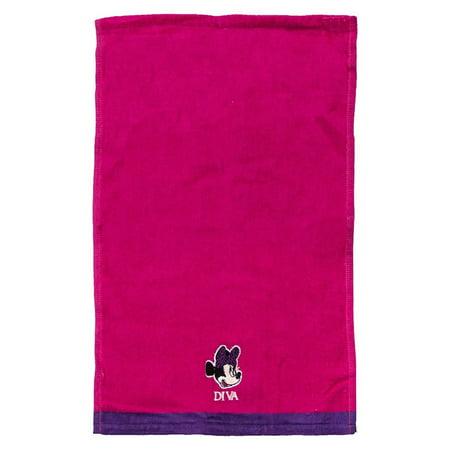 Disney Minnie Mouse Pink Tip Towel
