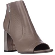 Womens VINCE Faber Open Toe Booties, Newstone