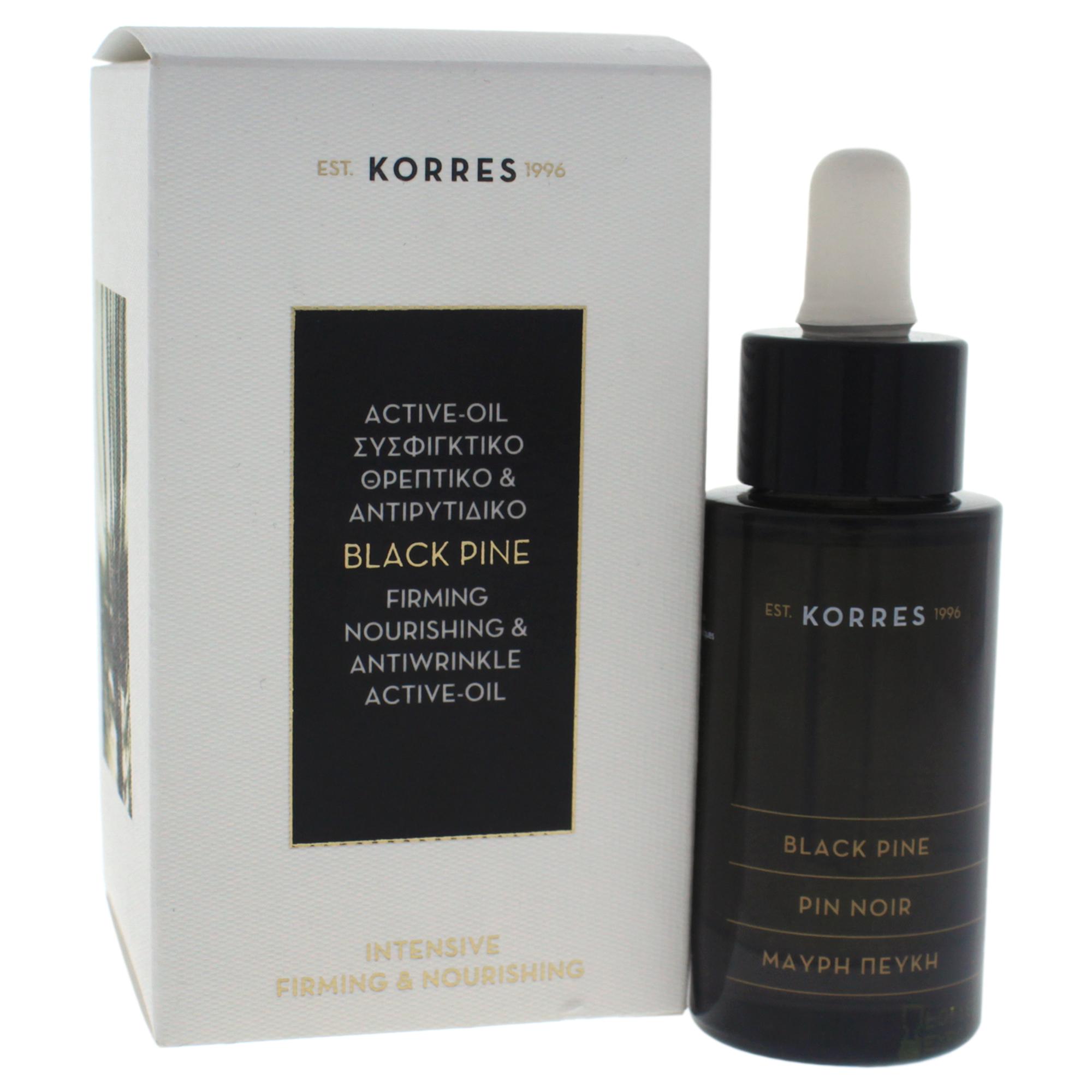 Black Pine Firming Nourishing & Antiwrinkle Active Oil by Korres for Unisex - 1.01 oz Oil