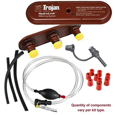 Trojan HydroLink Watering System for 48V Club Car 12V Battery Kit, Plus (2007 Club Car Precedent Battery Wiring Diagram)
