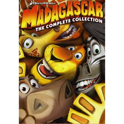 Madagascar: The Complete Collection - Madagascar / Escape 2 Africa / Europe's Most Wanted (Widescreen)