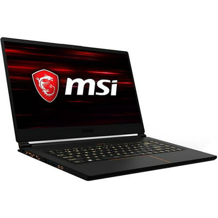 "MSI GS65 Stealth Thin-054 15.6"" Full HD 144Hz Gaming Notebook Computer, Intel Core i7-8750H 2.2GHz, 16GB RAM, 256GB SSD, NVIDIA GeForce GTX 1070 8GB,"
