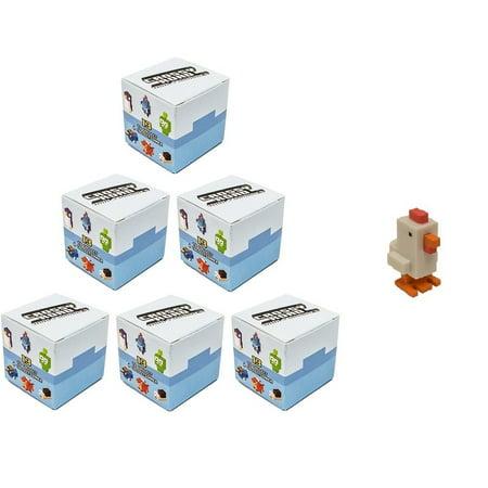 Crossy Road Mystery Mini Figure Blind Box Set of 6 : Includes 6 Random Bind - Crossy Road Characters Halloween
