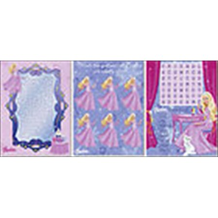 Barbie 'Perennial Princess' Game Sheets (24ct) (Best Barbie Games For Android)