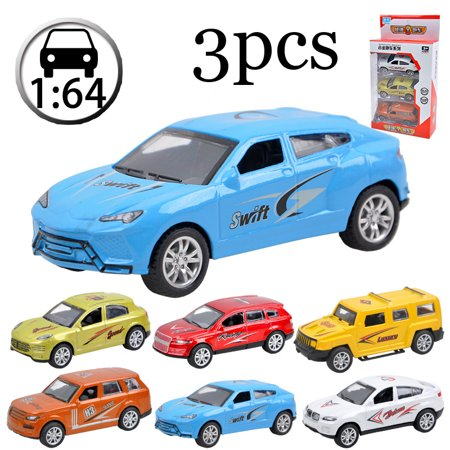 1:64 Sliding Alloy Racing Car Model Die Cast Vehicles for Kid Boy Girl Playing Game Birthday