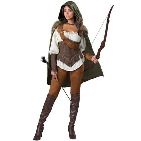 Enchanted Forest Huntress Adult - Forest Costume