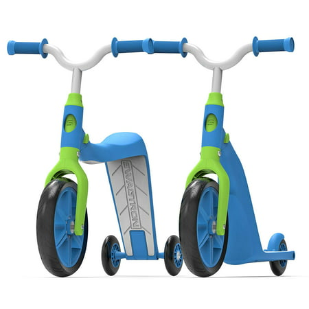 K6 Toddler Scooter, Convertible 4-in-1 Ride-On Balance Trike & Training Bike for 2-5 Year Olds — ASTM F963