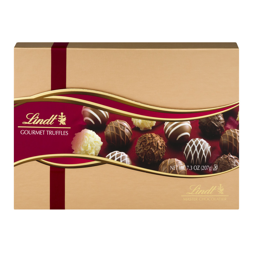 Lindt Gourmet Truffles Gift Box 7 3oz Best Chocolate Candy Gifts