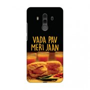 Huawei Mate 10 Pro Case, Premium Handcrafted Designer Hard Snap on Shell Case ShockProof Back Cover with Screen Cleaning Kit for Huawei Mate 10 Pro - Vada Pav Meri Jaan!