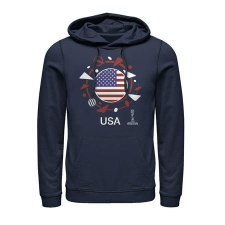 FIFA Women's World Cup France 2019 Men's USA Circle Flag
