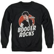Revenge Of The Nerds Booger Rocks Mens Crewneck Sweatshirt