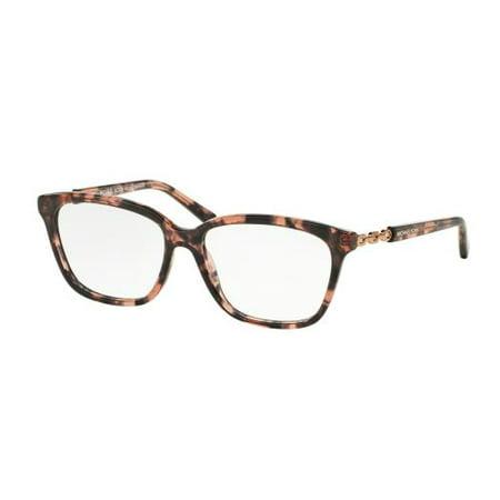 MICHAEL KORS Eyeglasses MK 8018F 3108 Pink Tortoise/Rose Gold 54MM (Black Michael Kors Frames)