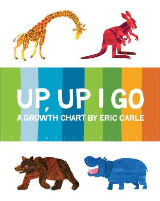 ERIC CARLE GROWTH CHART by Chronicle Books