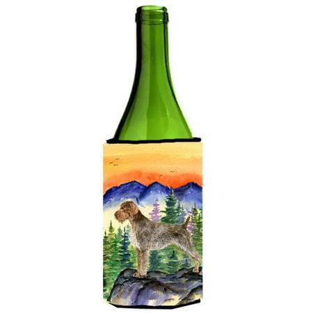 German Wirehaired Pointer Wine bottle sleeve Hugger 24 oz. - image 1 of 1