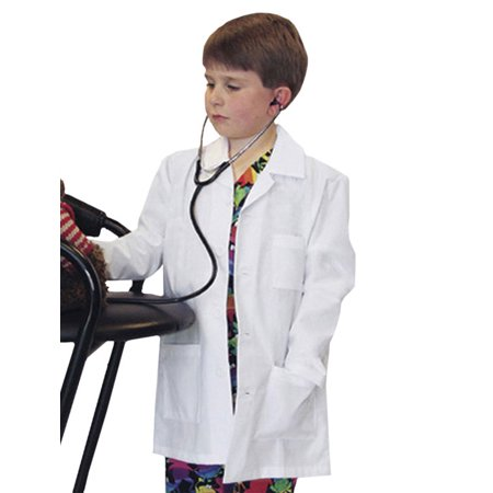 Landau Child Size Lab Coat w/ Embroidery Lab Coat - Kid Size Lab Coats