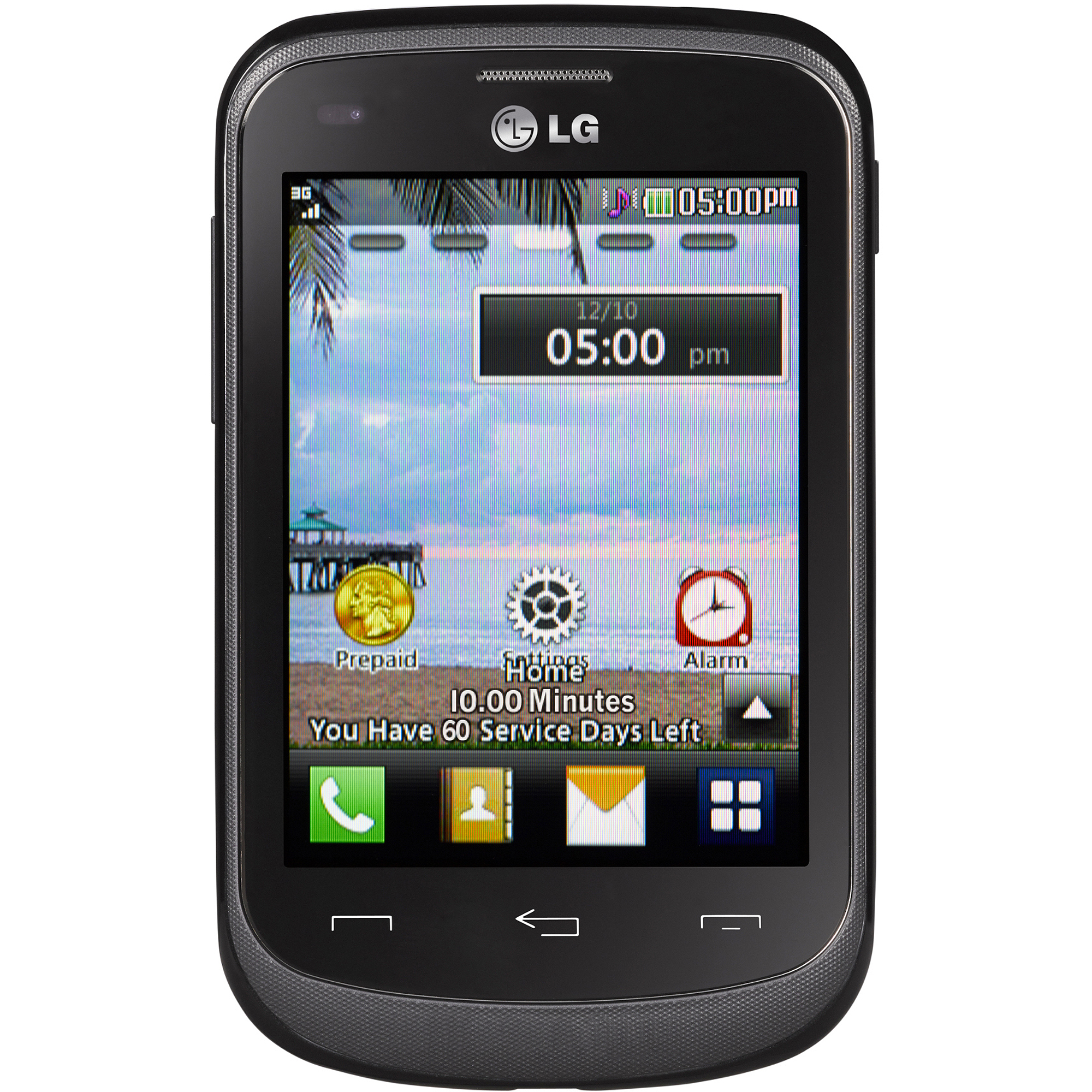 TracFone LG 306G Prepaid Cell Phone with Triple Minutes