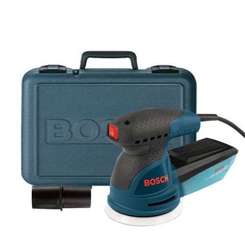 "Bosch ROS20VSK 5"" Variable Speed Palm-Grip Random Orbit Sander Kit by Bosch"