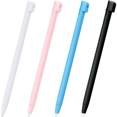 DS/DSi/DSi XL - Universal 4 Color Stylus Pack - White/Black/Blue/Pink  [Ninten