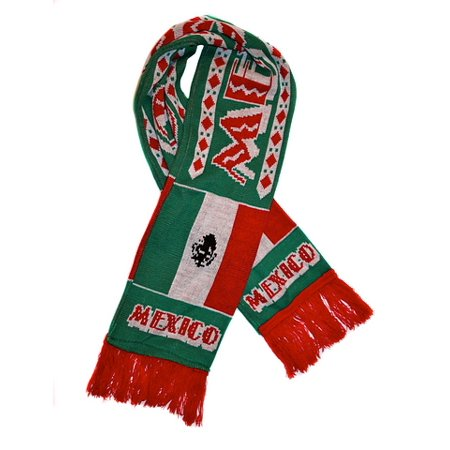 Premiership Soccer Usa Fan Scarf - Mexico Soccer Scarf