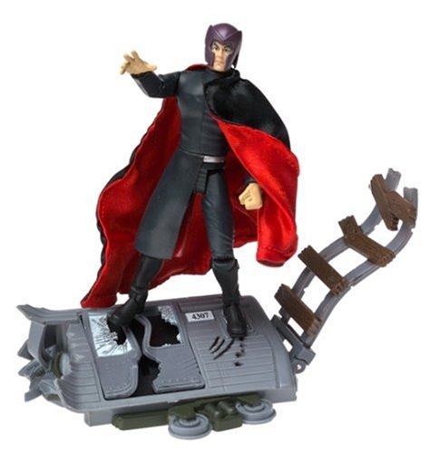 Marvel X-Men The Movie Magneto Train Wreck Action Figure by Toy Biz