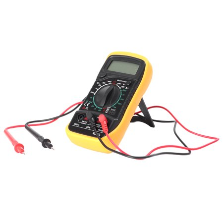 Handheld Multimeter (GZYF Digital Voltmeter Ammeter Ohmmeter Multimeter Volt AC DC Handheld Portable Tester Tool Meter )