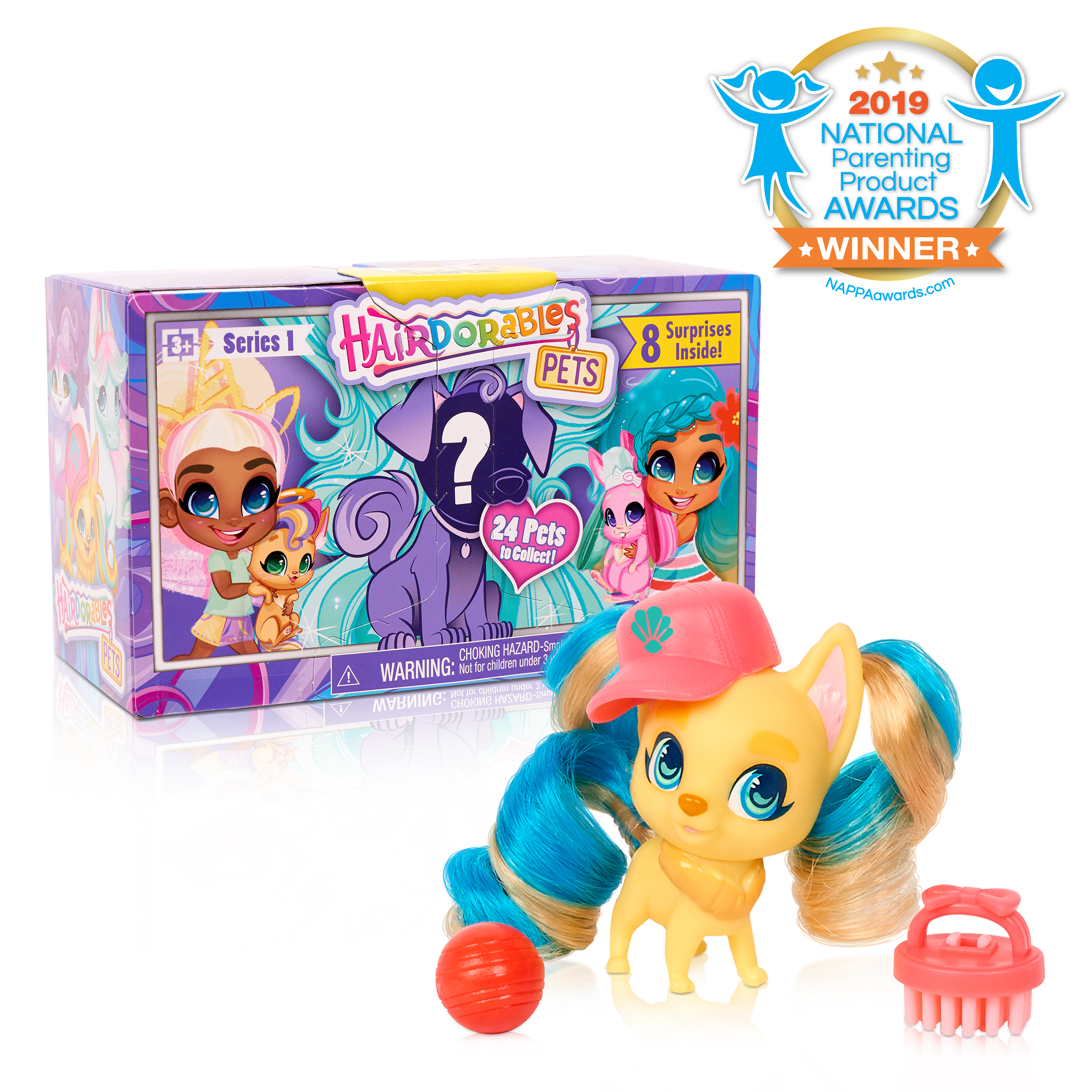 Hairdorables Collectible Pets - Series 1
