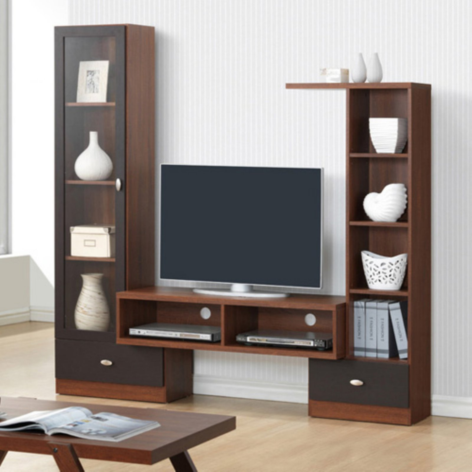 Baxton Studio Empire TV Stand for TV's up to 70""