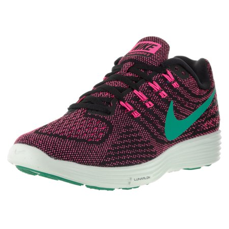 nike womens lunartempo 2 running trainers 818098 sneakers shoes (uk 6.5 us 9 eu 40.5, pink blast jade black 603)