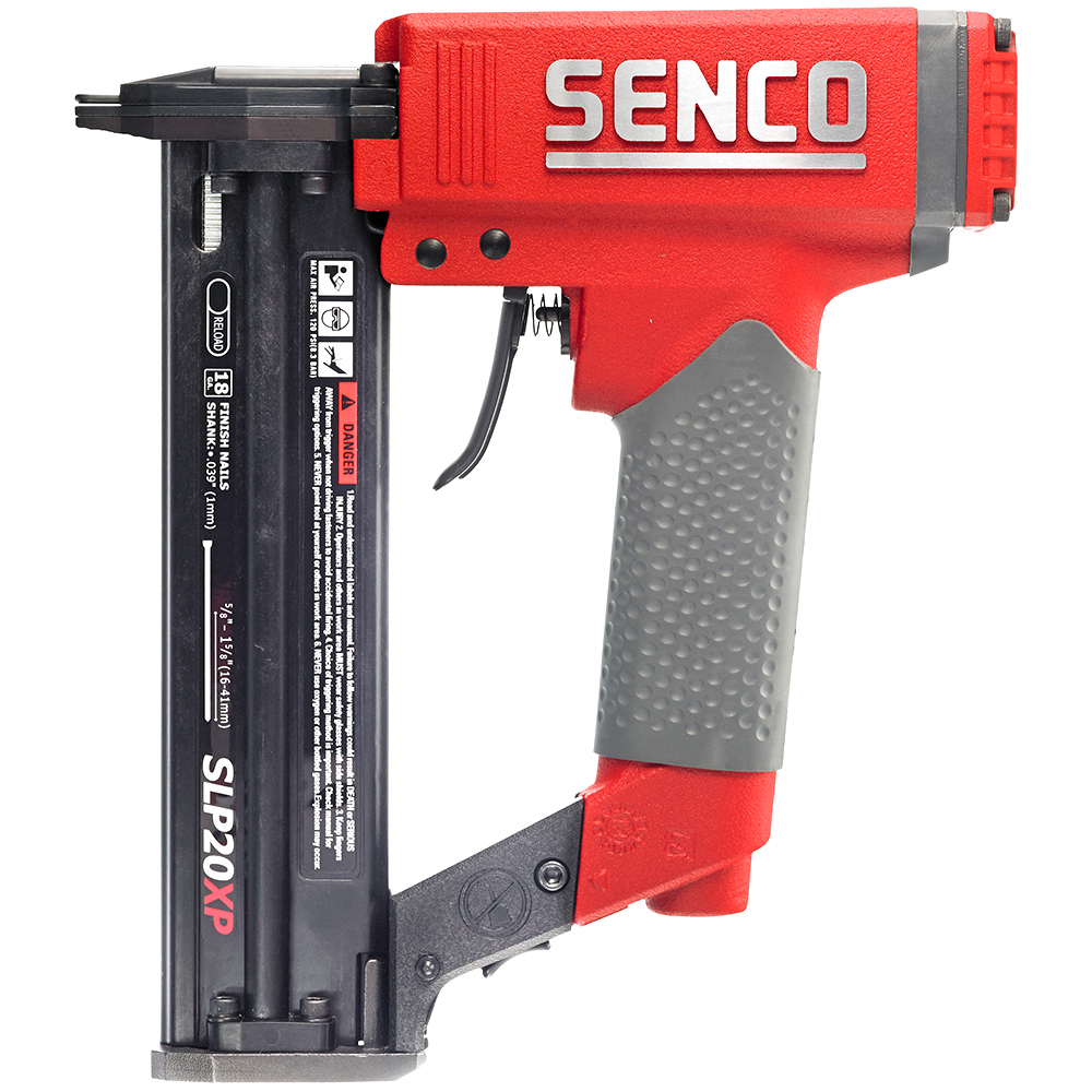 SENCO 430101N XtremePro 18-Gauge 1-5 8 in. Oil-Free Brad Nailer Kit by Senco