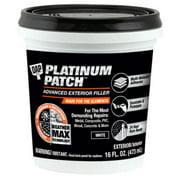 DAP Platinum Patch Advanced Exterior Filler, 16 oz
