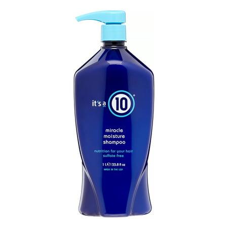 It's A 10 Miracle Moisture Shampoo, 33.8 Fl Oz Cloud 9 Miracle Repair Shampoo