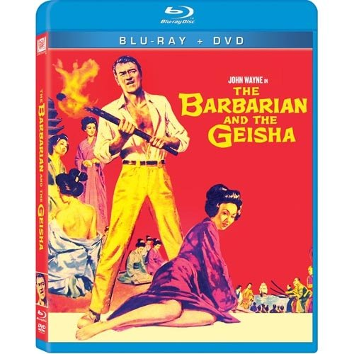 The Barbarian And The Geisha (Blu-ray   DVD)
