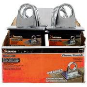 HAMPTON PROD 89606 Tie Down Anchor, Stake Pocket Mount - Chrome