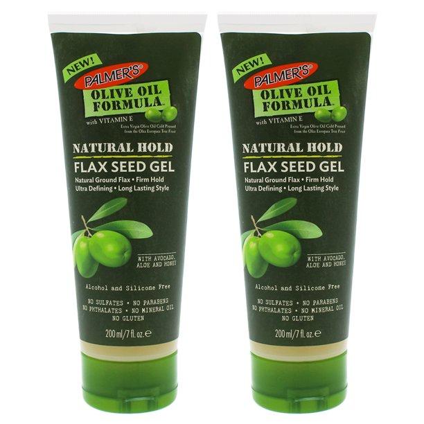 2 Pack Palmers Olive Oil Natural Hold Flax Seed Gel 7 Oz Walmart Com Walmart Com