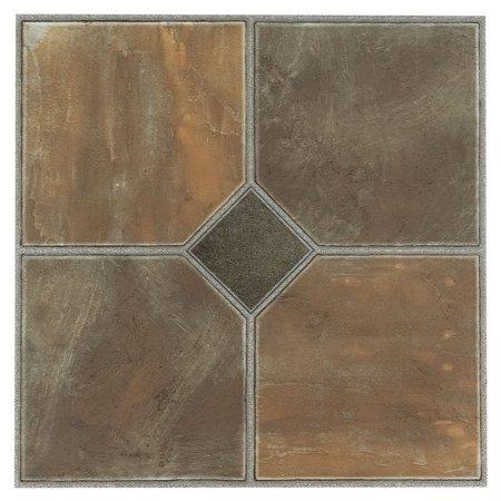 Ftvgm32620 Nexus 12 Inch Vinyl Tile Geo Rustic Slate 20 Packstunning High