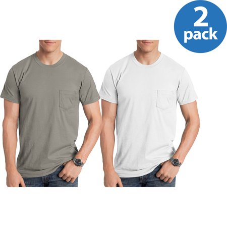 - Hanes Mens Nano T-shirt , 2 Pack Bundle For $10