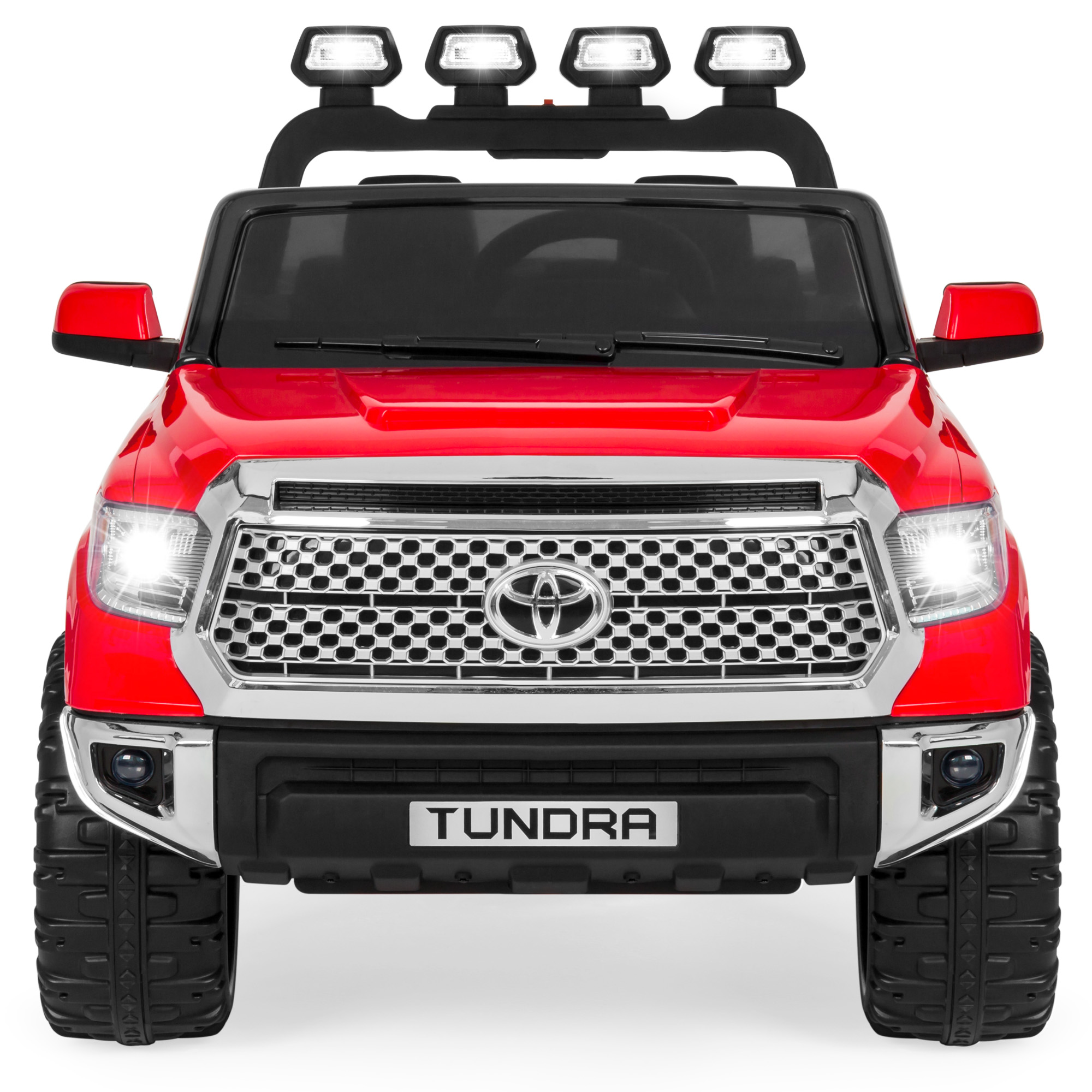 Best Choice Products 12V Kids Battery Powered Remote Control Toyota Tundra Ride On Truck Red by Best Choice Products