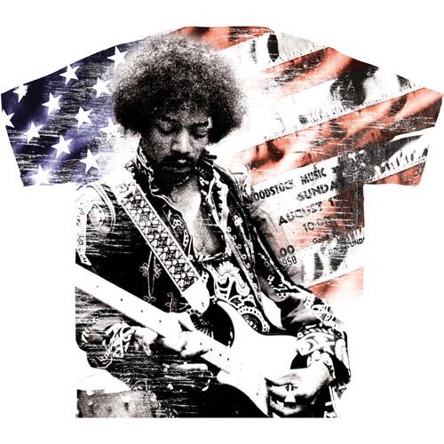 Men's Jimi Hendrix Graphic Tee