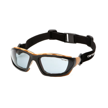 e123d797a855 Pyramex Safety Products Carhartt Carthage Safety Glasses Gray Anti-Fog Lens  with Black Tan Frame - Walmart.com
