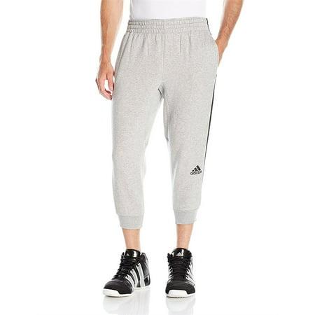 Adidas Men Slim 3 Stripe 3/4 Pants