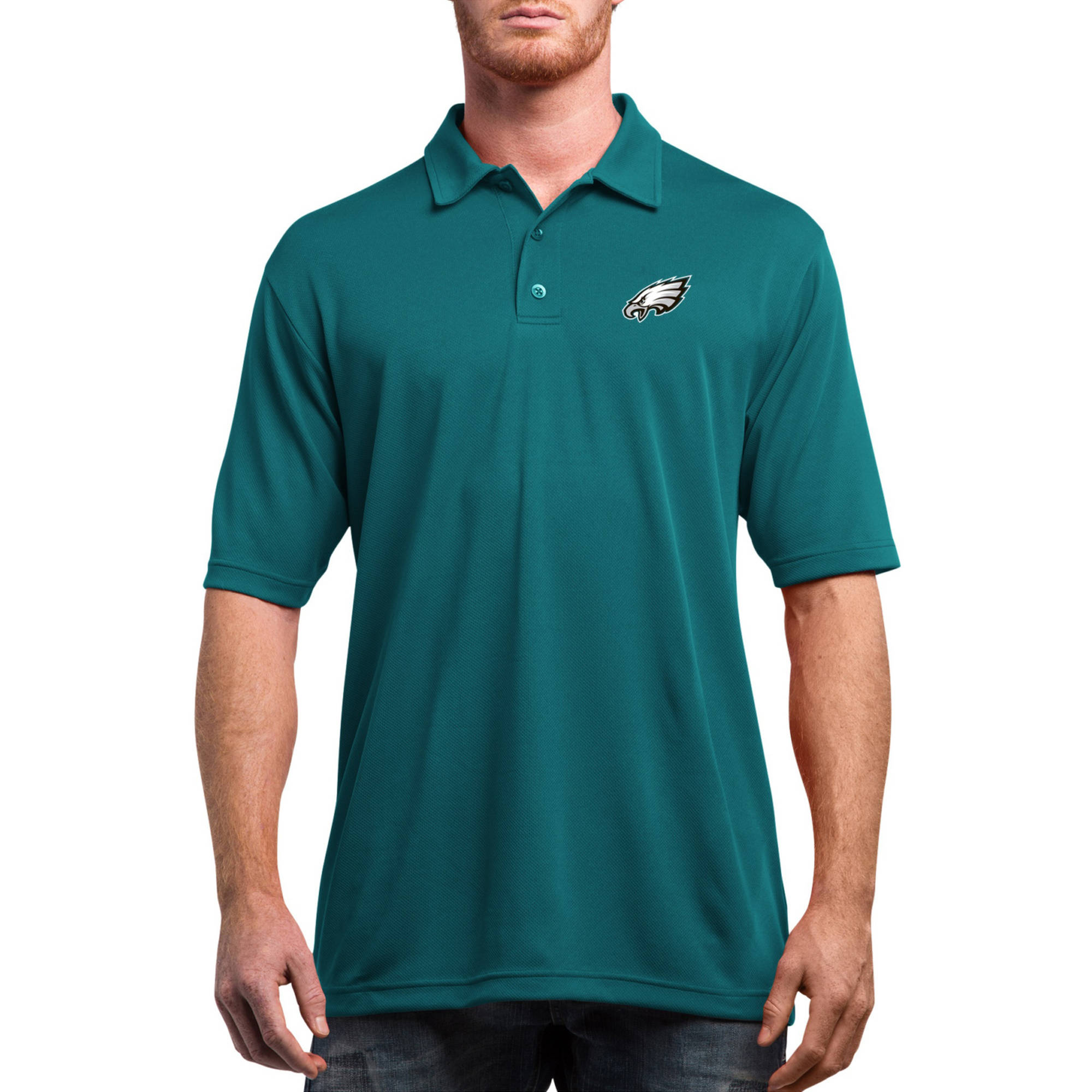 NFL Philadelphia Eagles On to the Win Men's Big and Tall Short Sleeve Polo