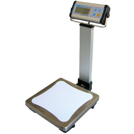 Adam Equipment CPWplus 75P Pillar Display Bench Scale, 165lb/75kg Capacity, 0.05lb/20g Readability